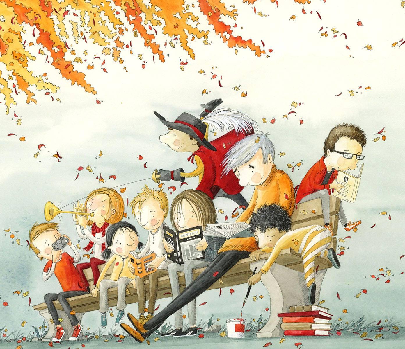 Illustration de Geneviève Després_J'enseigne avec la littérature jeunesse